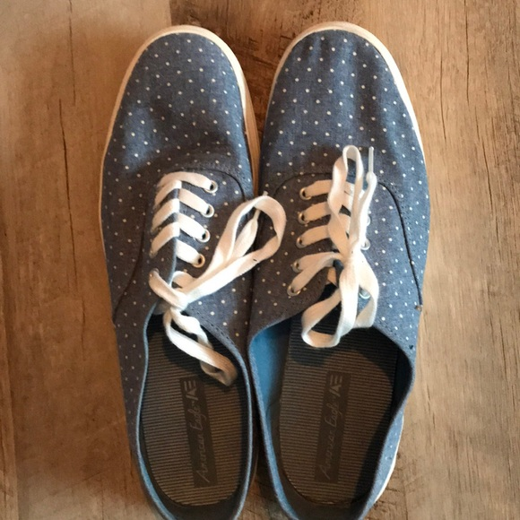 19d3d40056a3ba American Eagle By Payless Shoes - Women s American Eagle polka dot tennis  shoes